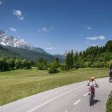 Langer Weg der Dolomiten (oder Dolomiten-Radweg)